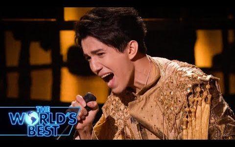 """アメリカCBSTV WORLDSBEST Dimash sang """"All By Myself"""" ディマシュすばらしかった!"""