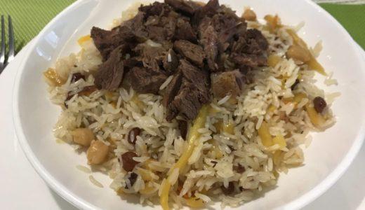 2019年のカザフスタンでのディマシュのソロコンサートARNAUその7 カザフスタンの食糧事情レストラン編