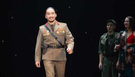 ディマシュチーム バックコーラスのラスルがロシアのミュージカルに出演