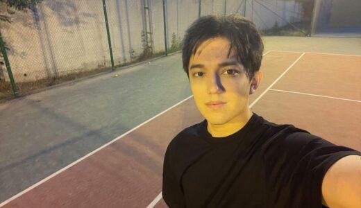 このメンバーで? ディマシュがテニス With this member? Dimash is playing tennis